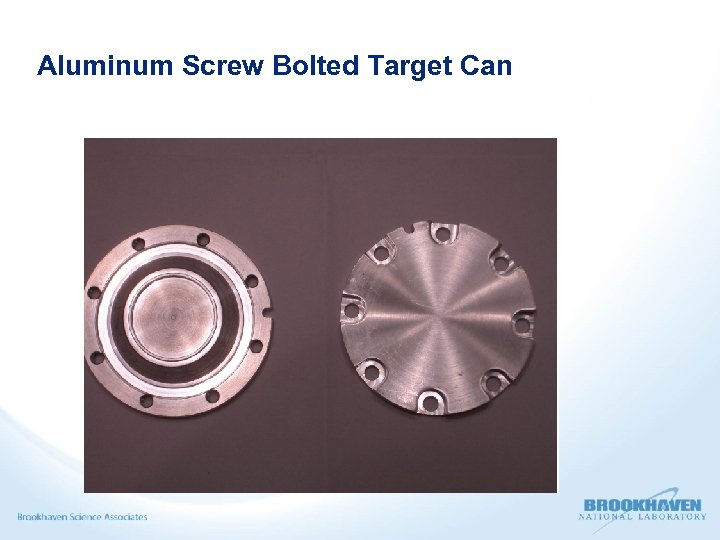 Aluminum Screw Bolted Target Can