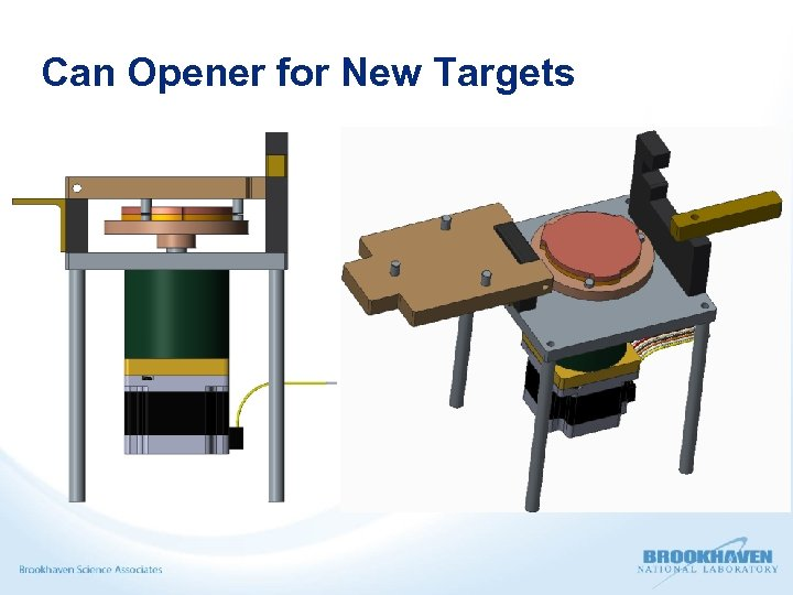 Can Opener for New Targets