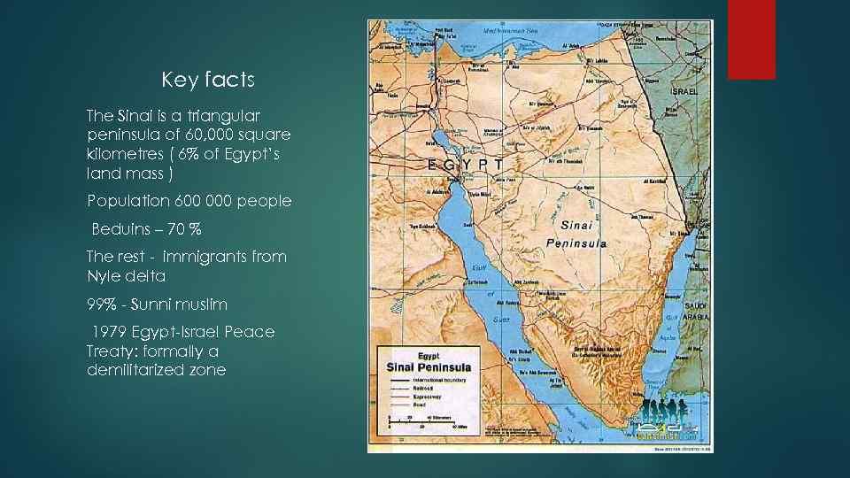 Instability in Sinai peninsula Ansar Bayt al-Maqdis
