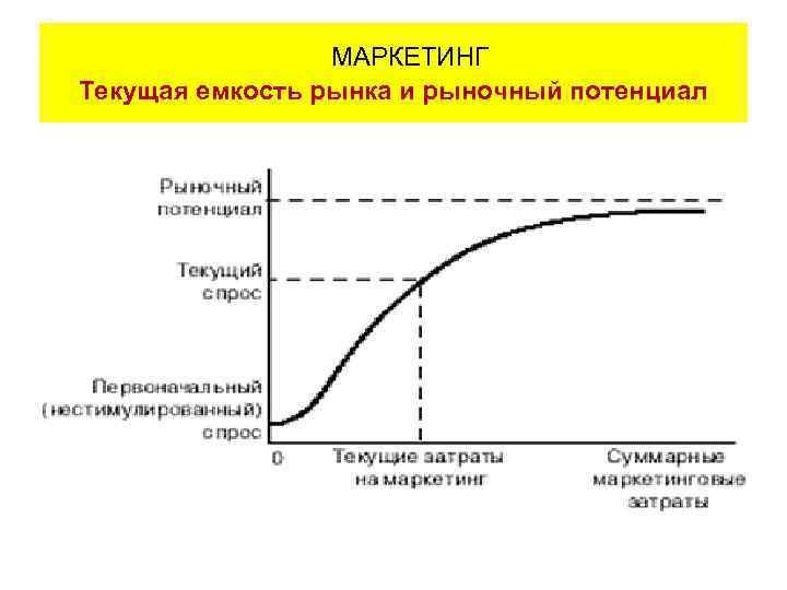 МАРКЕТИНГ Текущая емкость рынка и рыночный потенциал
