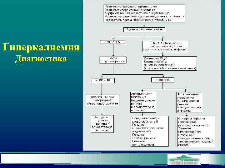 Гиперкалиемия Диагностика