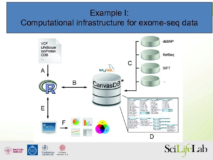 Example I: Computational infrastructure for exome-seq data *