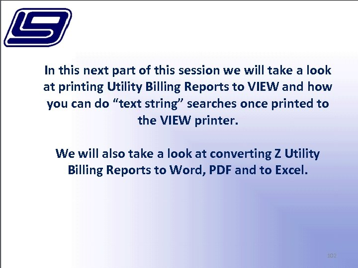 In this next part of this session we will take a look at printing