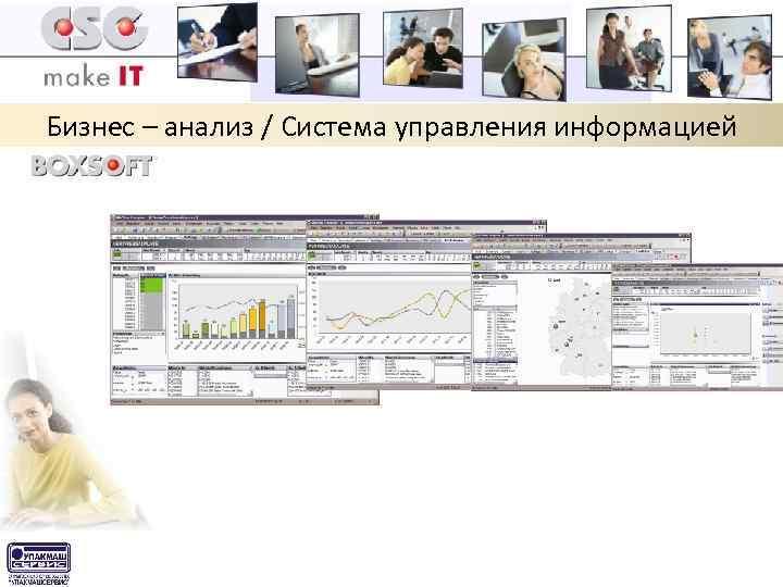 Бизнес – анализ / Система управления информацией