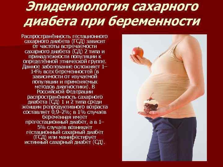 Рацион питания при гестационном сахарном диабете беременных 40