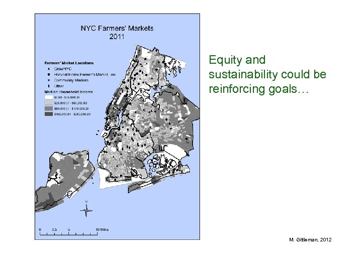 Equity and sustainability could be reinforcing goals… M. Gittleman, 2012