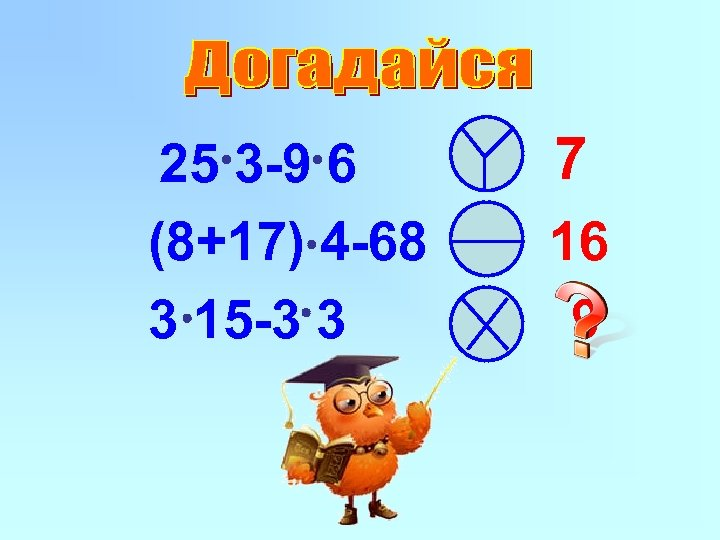 25 3 -9 6 (8+17) 4 -68 3 15 -3 3 7 16 9