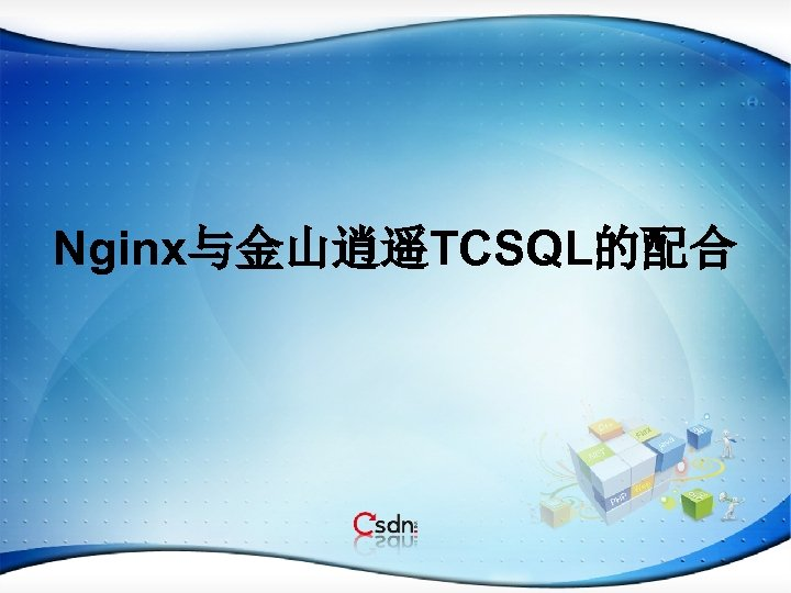 Nginx与金山逍遥TCSQL的配合