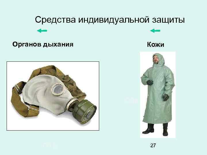 Средства индивидуальной защиты Органов дыхания Кожи ОЗК ГП-5 27