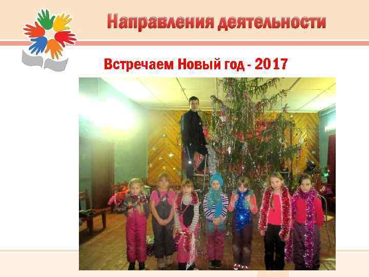 Направления деятельности Встречаем Новый год - 2017