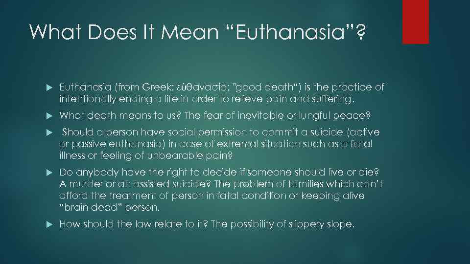 isis kearneys paper on what does euthanasia mean Watson for senate  where will the # negop and your conscience stand on innocent life on may 15th absolutely dominating isis.