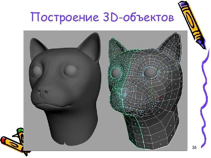 Построение 3 D-объектов 36