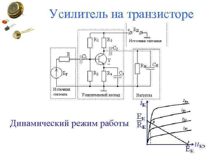 Усилитель на транзисторе Динамический режим работы