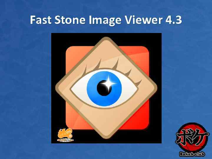 Fast Stone Image Viewer 4. 3