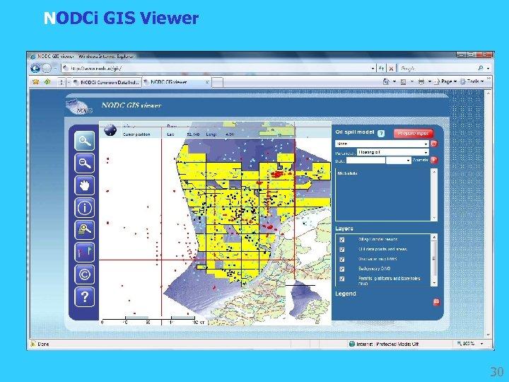 NODCi GIS Viewer 30