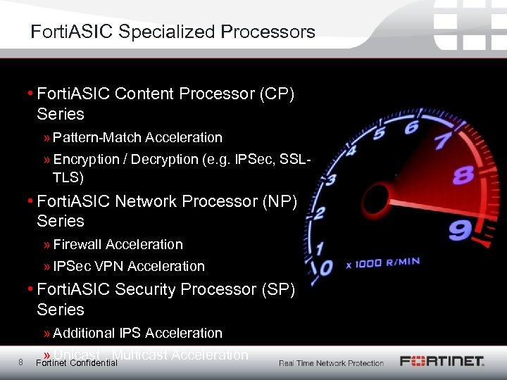 Forti. ASIC Specialized Processors • Forti. ASIC Content Processor (CP) Series » Pattern-Match Acceleration