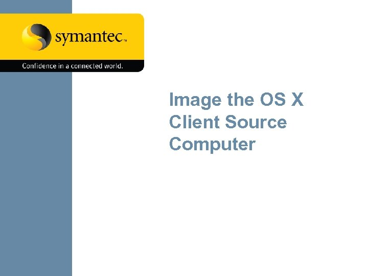 Image the OS X Client Source Computer