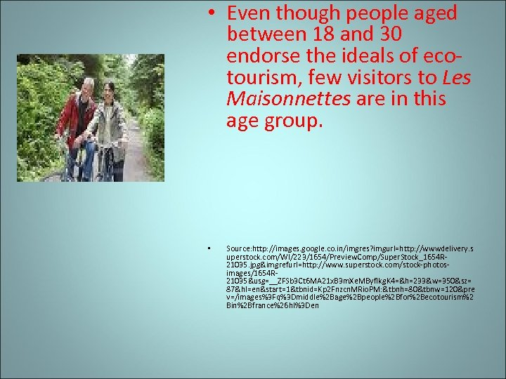 • Even though people aged between 18 and 30 endorse the ideals of