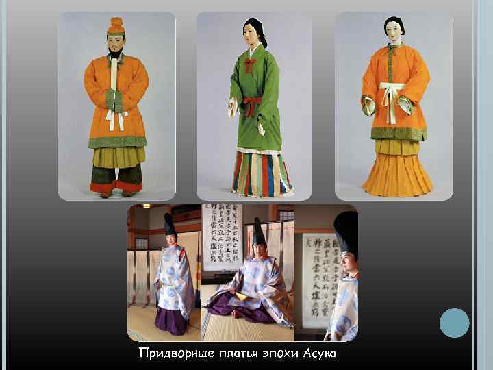 Придворные платья эпохи Асука
