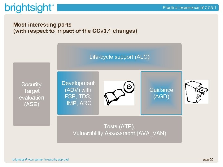 Practical experience of CC 3. 1 Most interesting parts (with respect to impact of