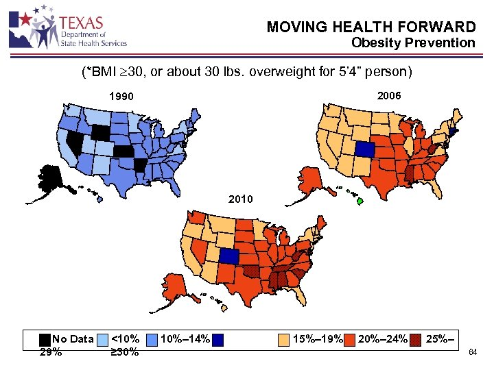MOVING HEALTH FORWARD Obesity Prevention (*BMI 30, or about 30 lbs. overweight for 5'