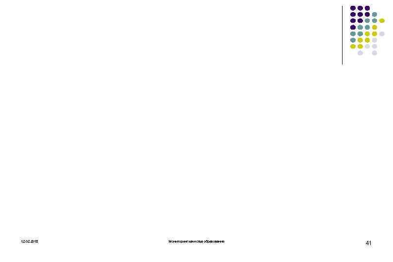 12. 02. 2018 Мониторинг качества образования 41