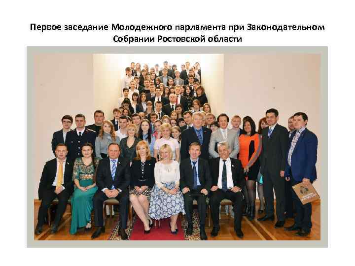 Первое заседание Молодежного парламента при Законодательном Собрании Ростовской области