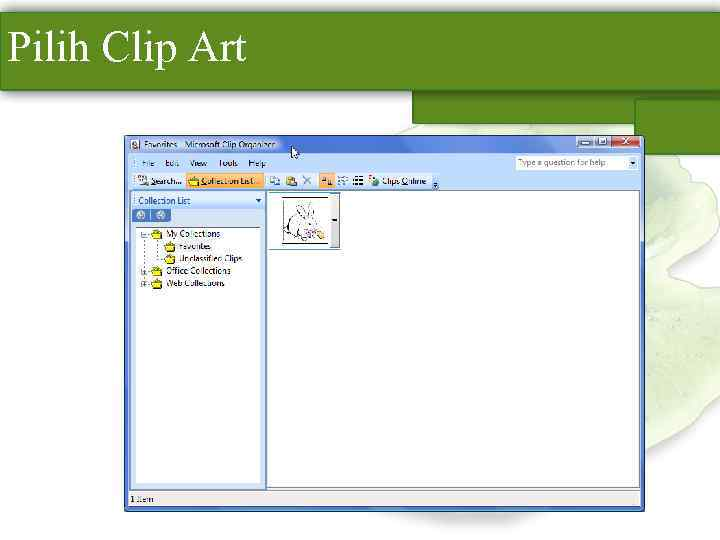 Pilih Clip Art