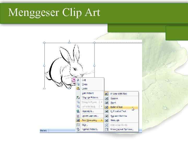 Menggeser Clip Art
