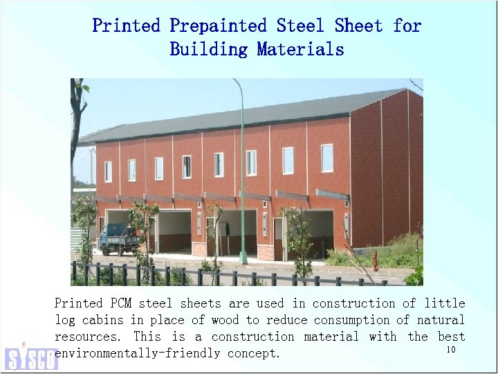 Printed Prepainted Steel Sheet for Building Materials Printed PCM steel sheets are used in
