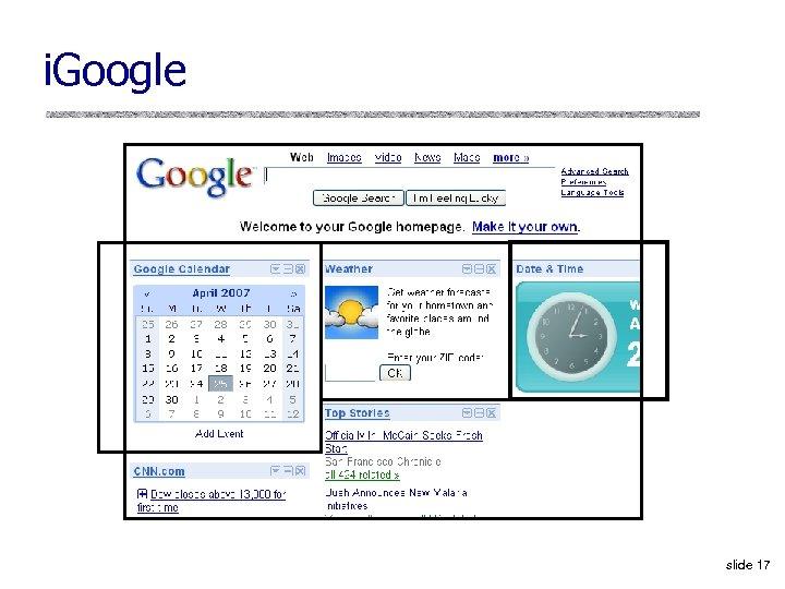 i. Google slide 17