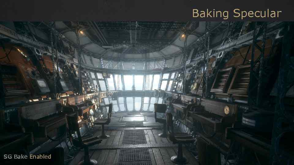 Baking Specular SG Bake Enabled