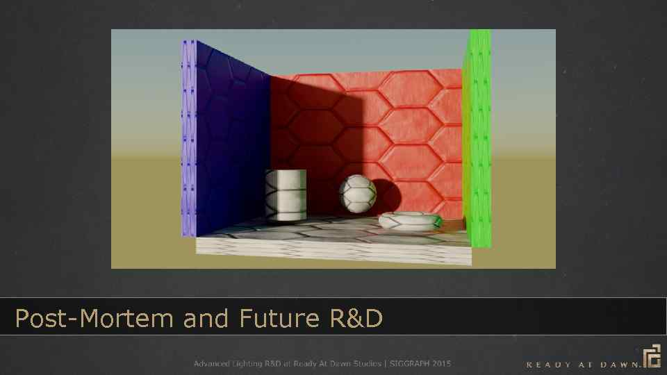 Post-Mortem and Future R&D
