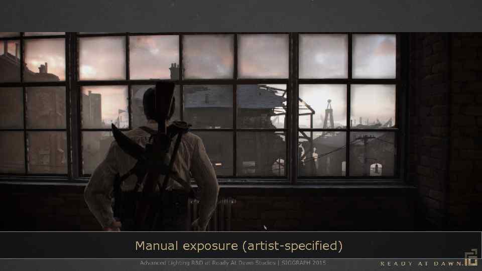Manual exposure (artist-specified)