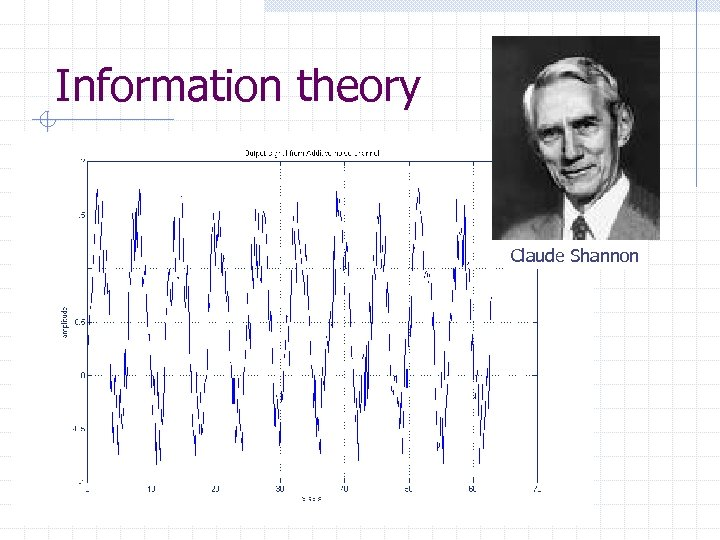 Information theory Claude Shannon