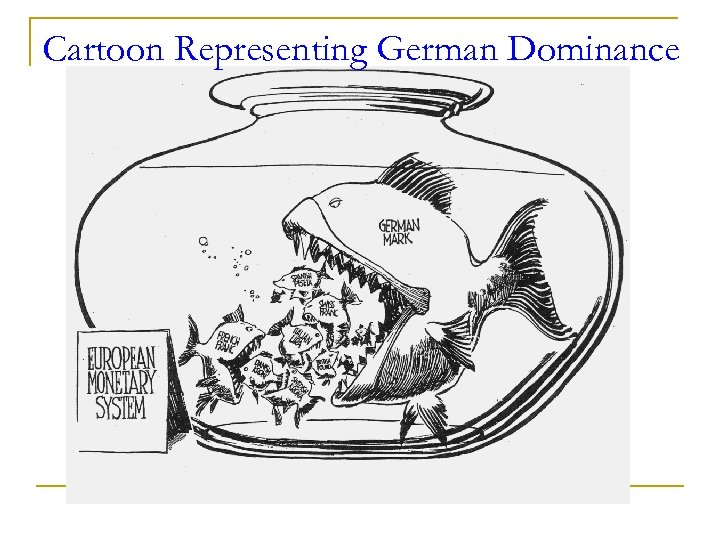 Cartoon Representing German Dominance