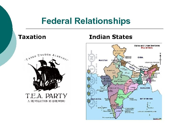 Federal Relationships Taxation Indian States
