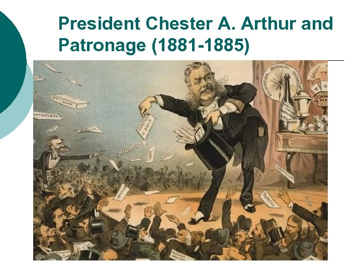 President Chester A. Arthur and Patronage (1881 -1885)