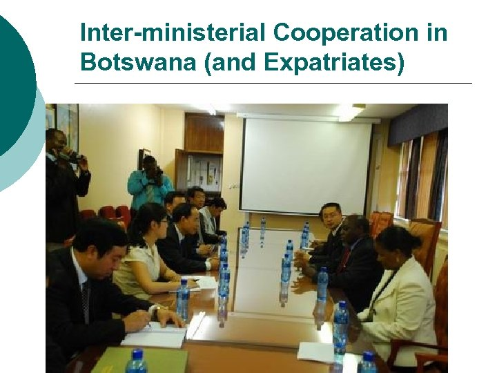 Inter-ministerial Cooperation in Botswana (and Expatriates)