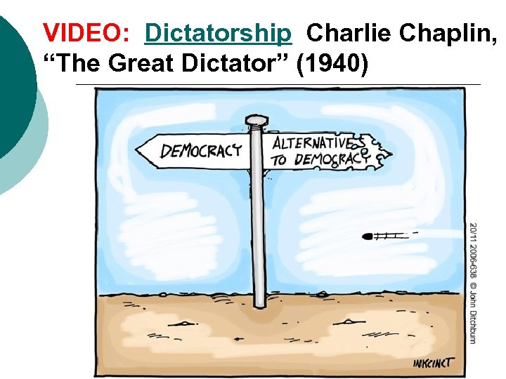 "VIDEO: Dictatorship Charlie Chaplin, ""The Great Dictator"" (1940)"