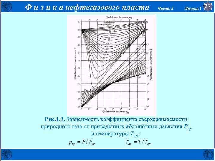 Ф и з и к а нефтегазового пласта Часть 2 Лекция 1 . Рис.