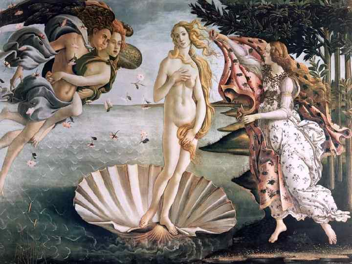 Символами богини были голубь и заяц (как знак плодовитости), из растений ей были посвящены