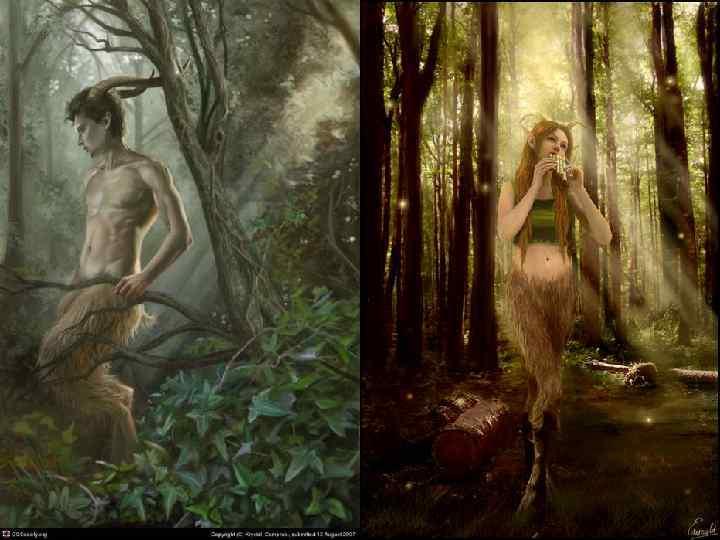 Фавн • • • Фавн был добрым, веселым и деятельным богом лесов, рощ и