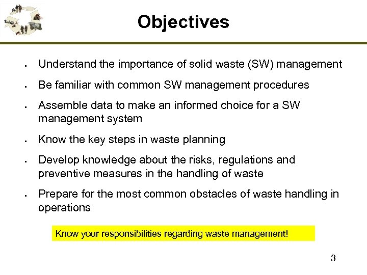 steps of waste management