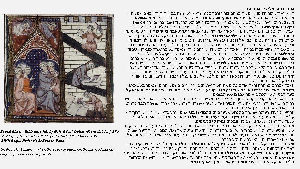 פרקי דרבי אליעזר פרק כד ר` אליעזר אומר היו מולידים את בניהם ופרין