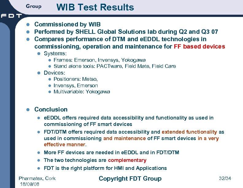 FDT Technology IEC 62453 ISA SP 103