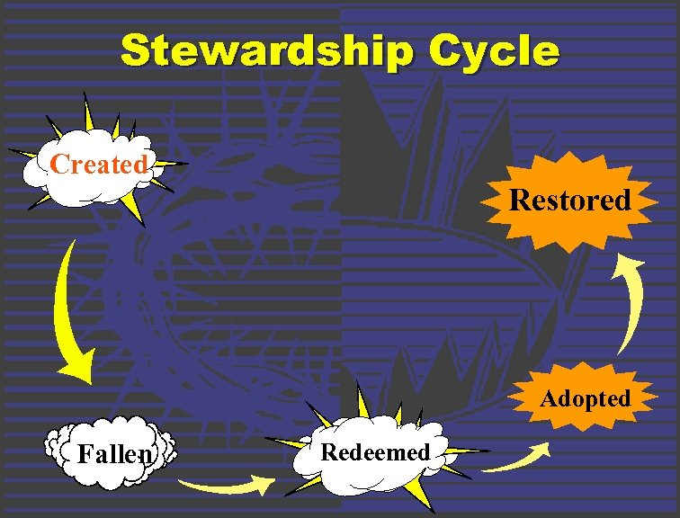 Stewardship Cycle Created Restored Adopted Fallen Redeemed