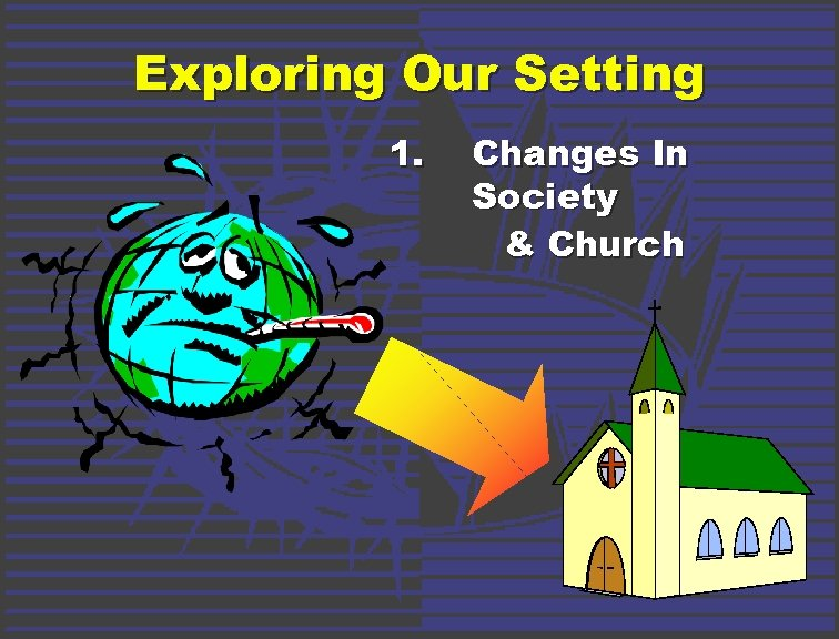 Exploring Our Setting 1. Changes In Society & Church