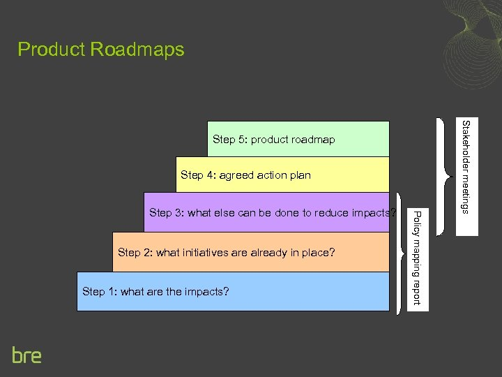 Product Roadmaps Step 4: agreed action plan Step 2: what initiatives are already in