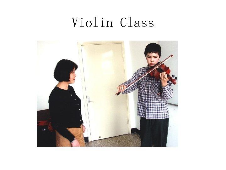 Violin Class
